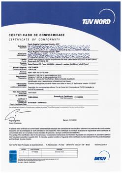 Certificado de Conformidade TNBR-26544